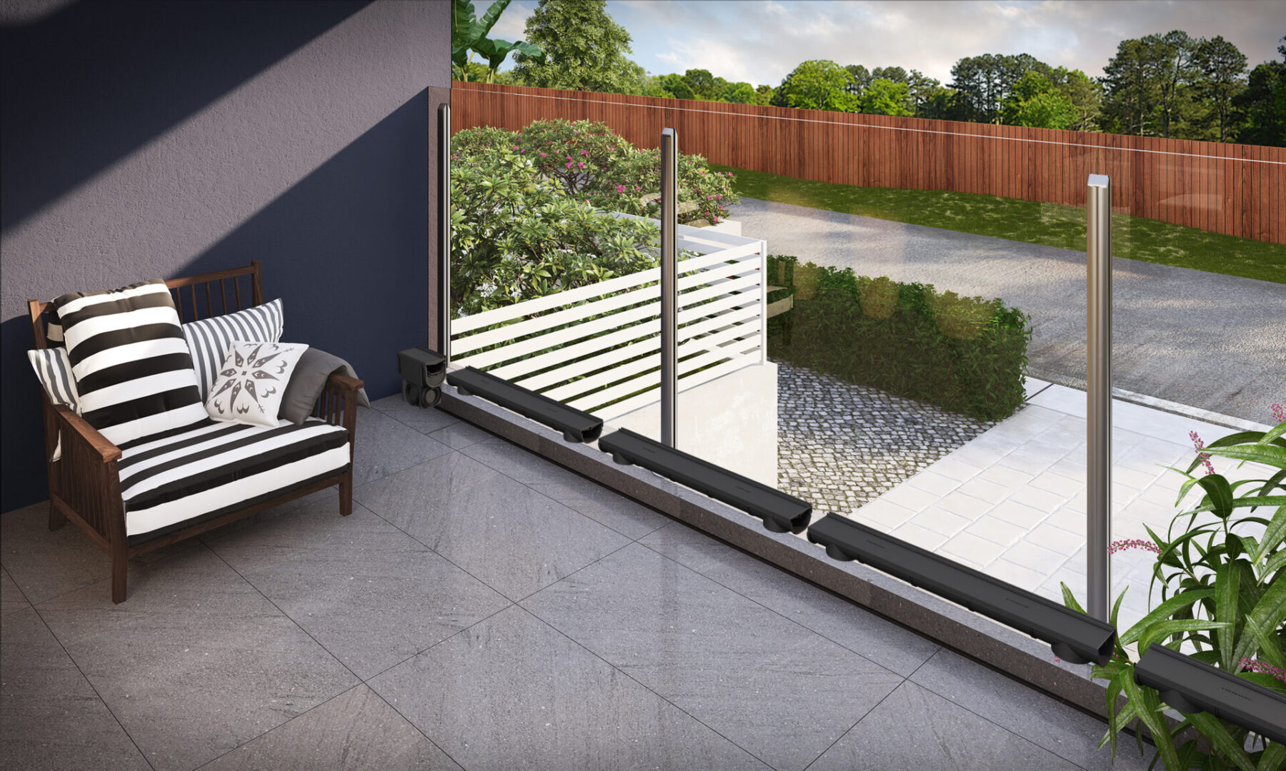 Compact Balcony Uninstalled